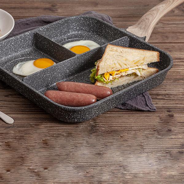 Carote麥飯石三合一早餐鍋