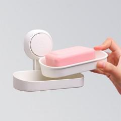 太力壁掛式真空吸盤肥皂盒
