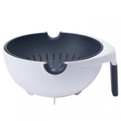 Carote可拆卸雙層翻轉洗菜瀝水籃