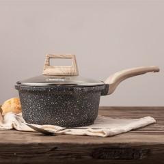 Carote麥飯石不粘泡麵牛奶鍋