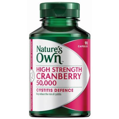 Nature's Own 高含量蔓越莓精華膠囊 90粒