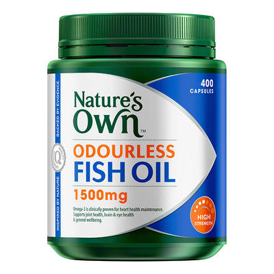 Nature's Own 高強度無腥味深海魚油膠囊 1500mg 400粒