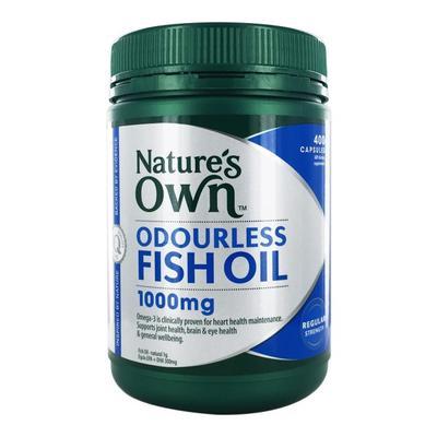 Nature's Own 無腥味深海魚油膠囊 1000mg 400粒