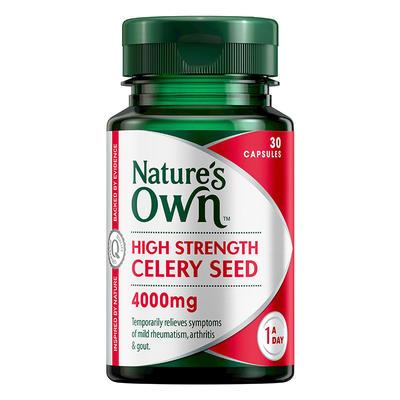 Nature's Own 高含量芹菜籽 30*4000mg/片 (改善關節的靈活性)