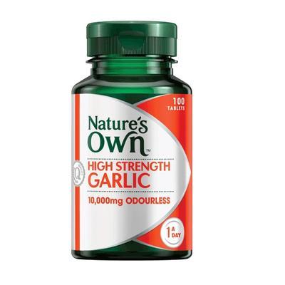 Nature's Own High Strength Garlic 10000mg Tab X 50