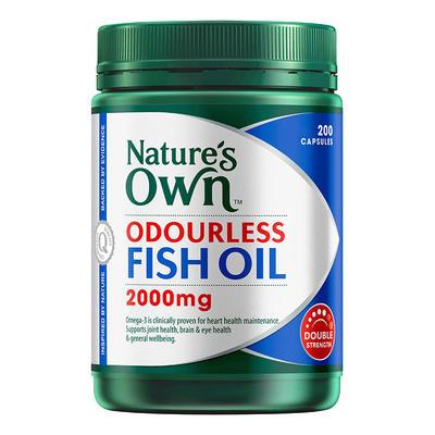 Nature's Own 無腥味深海魚油 2000mg*200粒