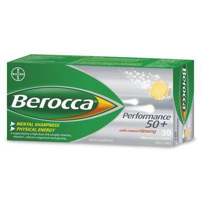 Berocca 拜維佳Focus泡騰片 30片(50歲以上的人群)