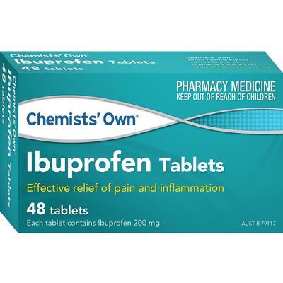 Chemists' Own Ibuprofen Tab X 48