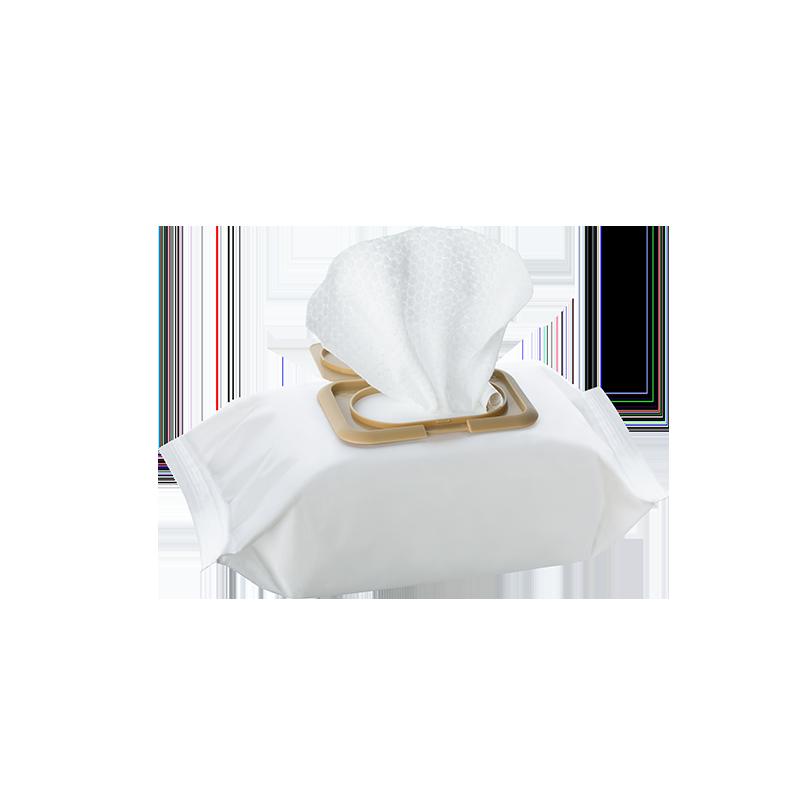 不含酒精,使用安心 爽膚清潔濕巾