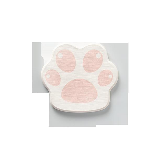 櫻花系列 櫻櫻貓速幹吸水硅藻土地墊皂託