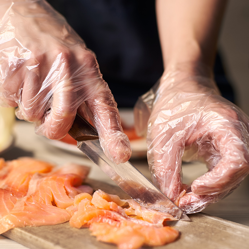 食品級,防水隔髒 一次性PE手套150只袋