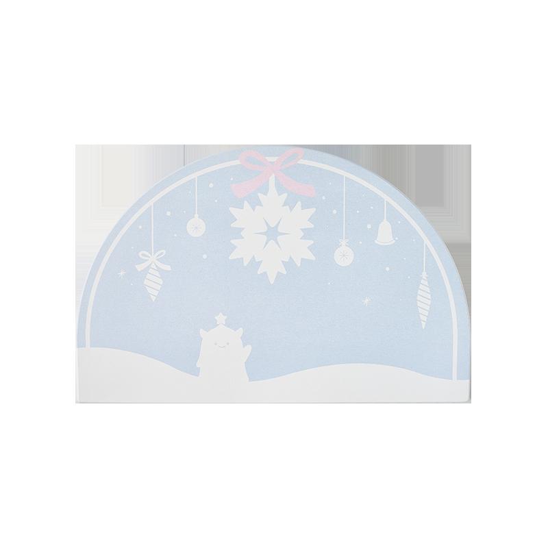 極光雪怪,聖誕系列硅藻土地墊置物託