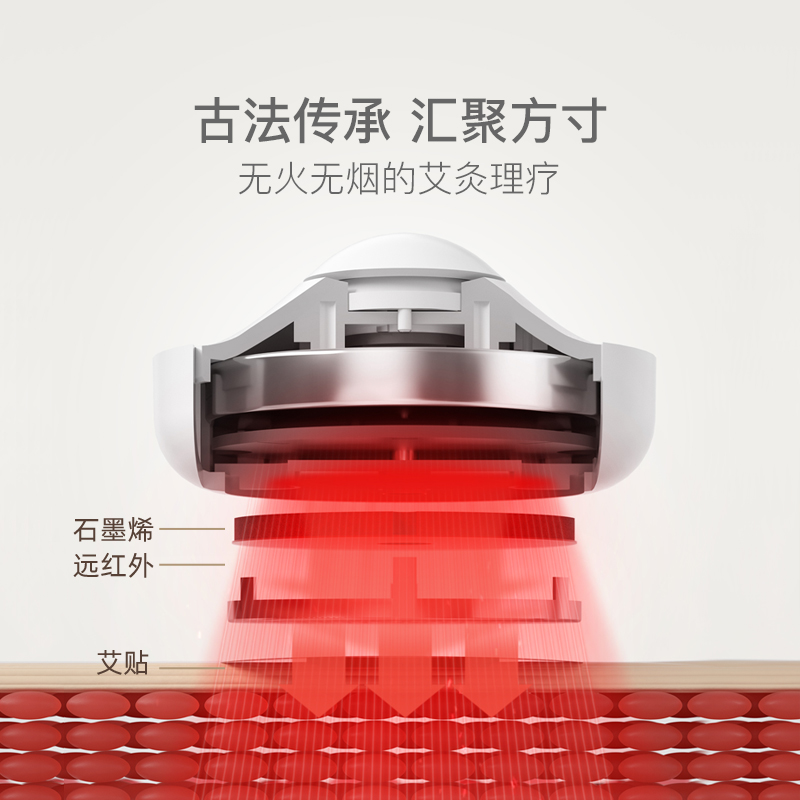 打破傳統艾灸設計,電熱便攜艾灸盒