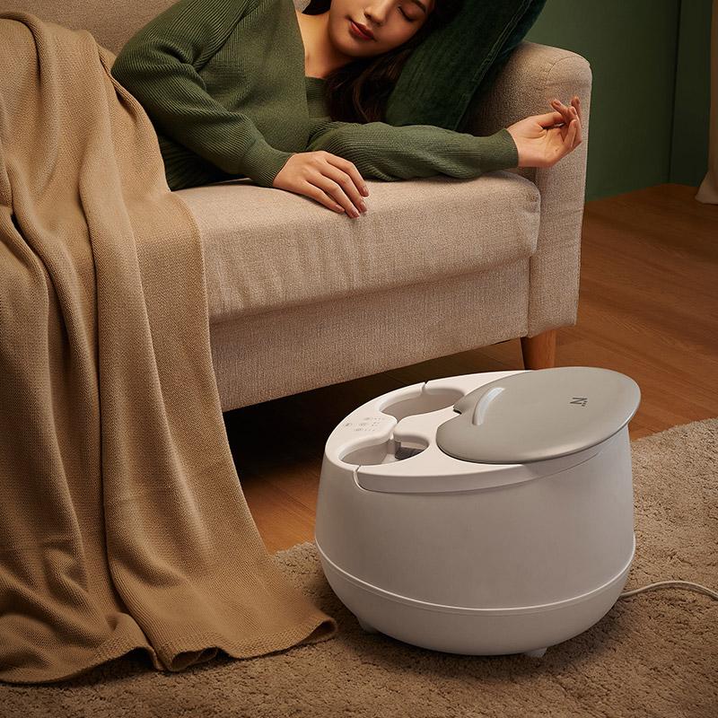 滋養雙腳Q彈順滑,蒸汽足浴盆2.0(升級款)