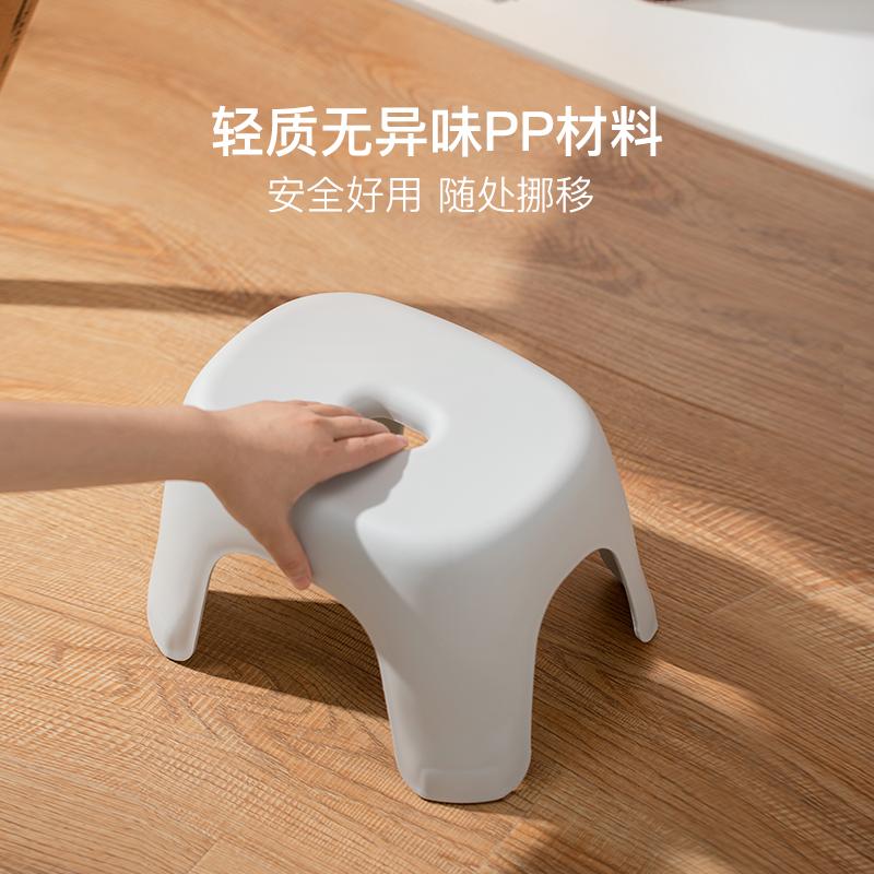 小巧多能,防滑耐磨浴室凳