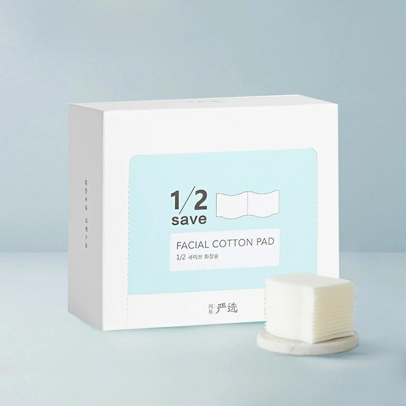60片裝 韓國製造 12型省水化粧棉