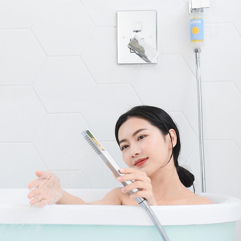 【囤貨裝】韓國維C香氛沐浴淨水器 3只裝