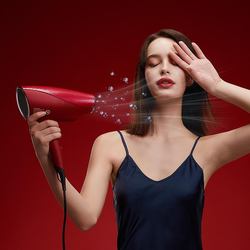 納米水離子吹風機+香氛護髮精華膠囊套裝