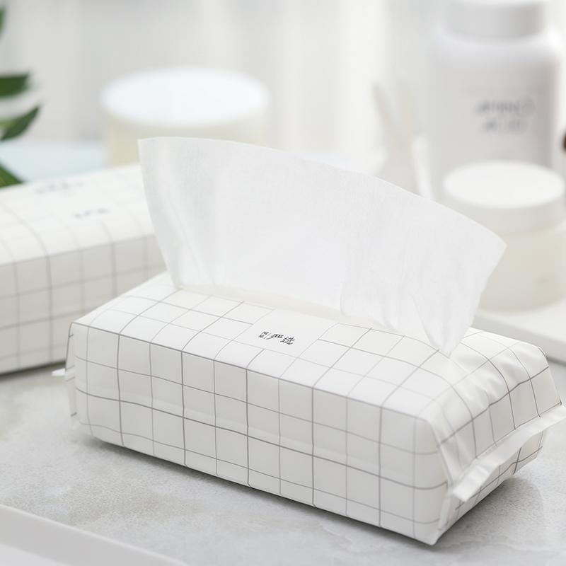 純棉親膚吸水加倍 乾濕兩用棉柔巾10020抽