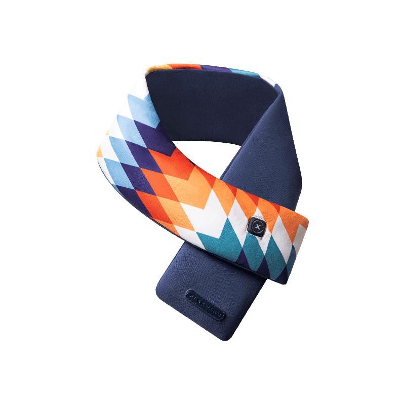 防寒保暖抗疫,按摩發熱智能圍巾