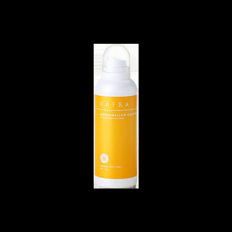 肌膚泡泡SPA 日本rafra甜橙碳酸潔面慕斯