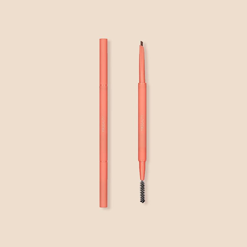 持久順滑勾勒好眉形,雙頭三角塑形眉筆