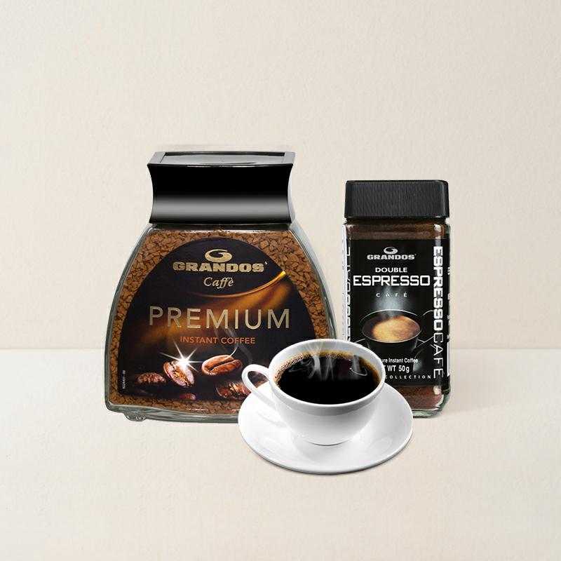 口感猶如現磨 德國優質凍幹速溶黑咖啡50克