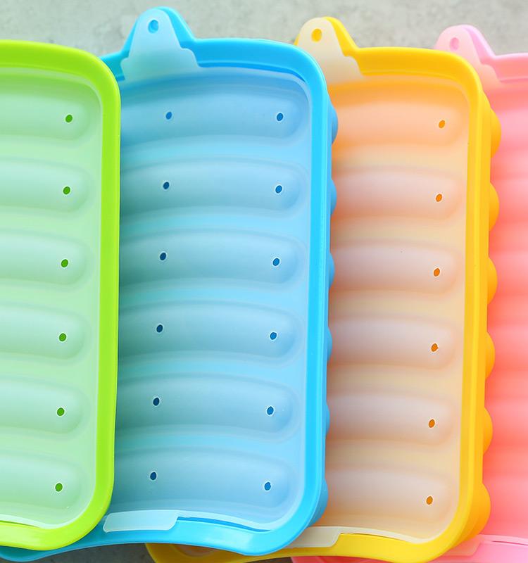 DIY工具 DIY模具 硅膠模具 香腸矽膠模具 嬰兒輔食模具